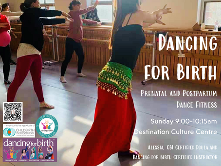 Dancing For Birth Classes in BJ!