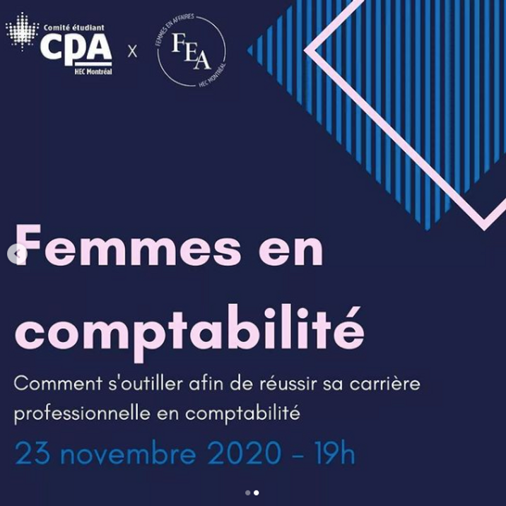 FEA x CPA : Femmes en comptabilité