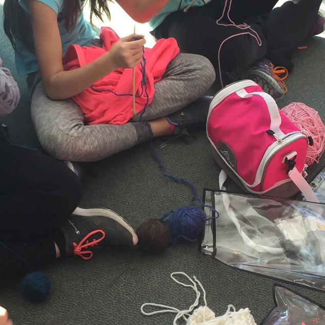 Cosburn Knitters #LoveInDeed