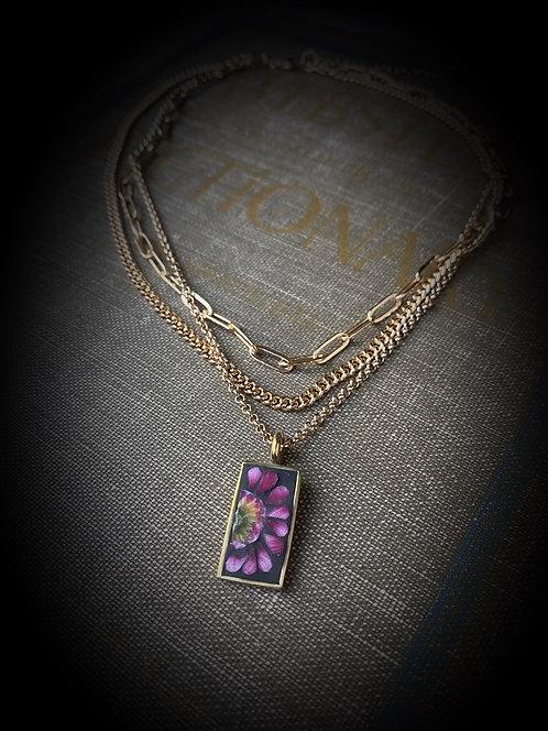 "Multi Strand Necklace ""Bloom"""