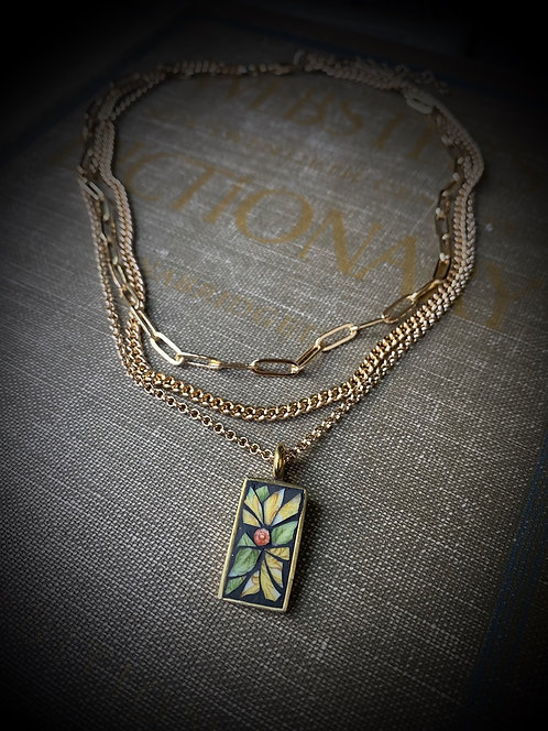 """Multi Stand Necklace """"Daisy"""""""
