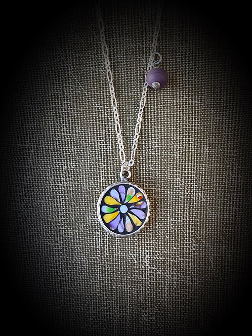 Bloom Mosaic Pendant
