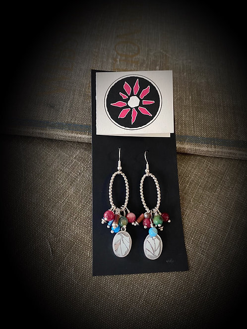 Mosaic Mirror Earrings