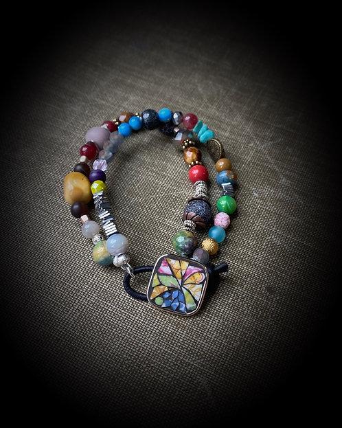 """""""Everyday"""" Button Bracelet"""