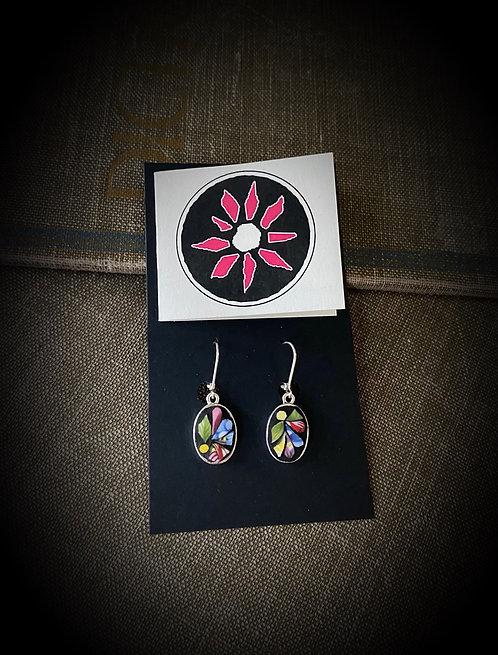 Teacup Mosaic Earrings