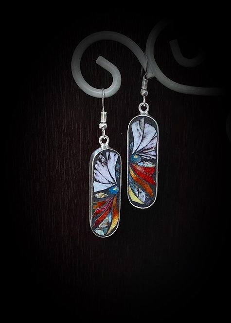 """Confidence"" Mosaic Earrings"