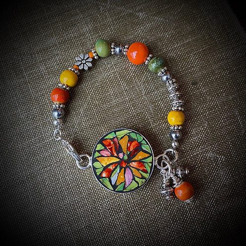 """Sincerity"" Mosaic Bracelet"