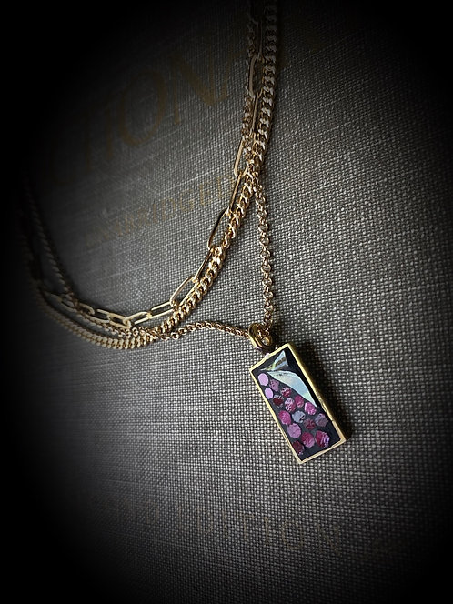 "Multi Strand Necklace ""Gracious"""
