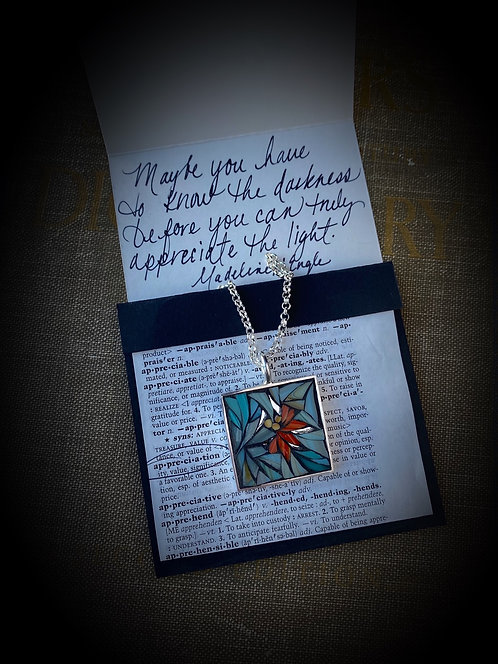 """Appreciate"" Mosaic Pendant"