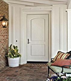 residential metal two panel doors