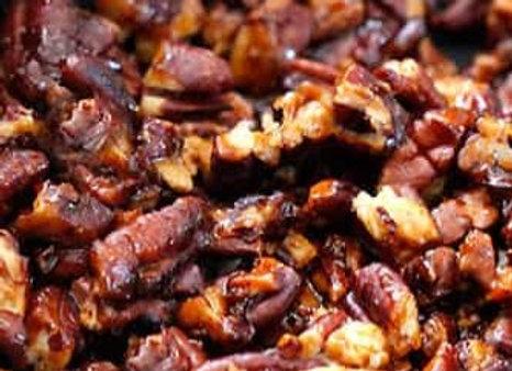 Caramel Roasted Pecans