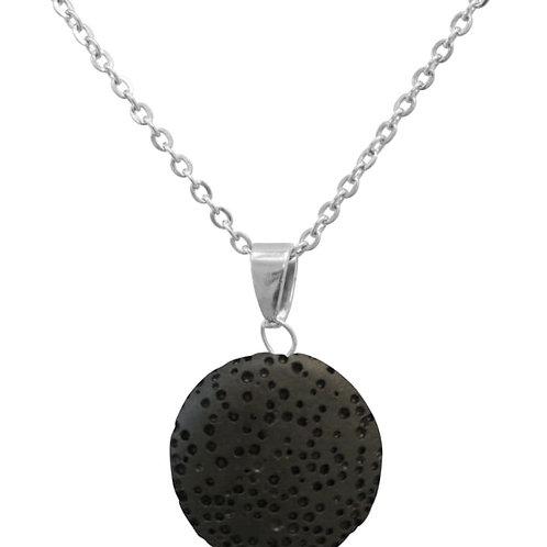 Black Lava Stone Essential Oil Necklace