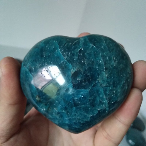 1pc Natural Blue Apatite Polycrystalline