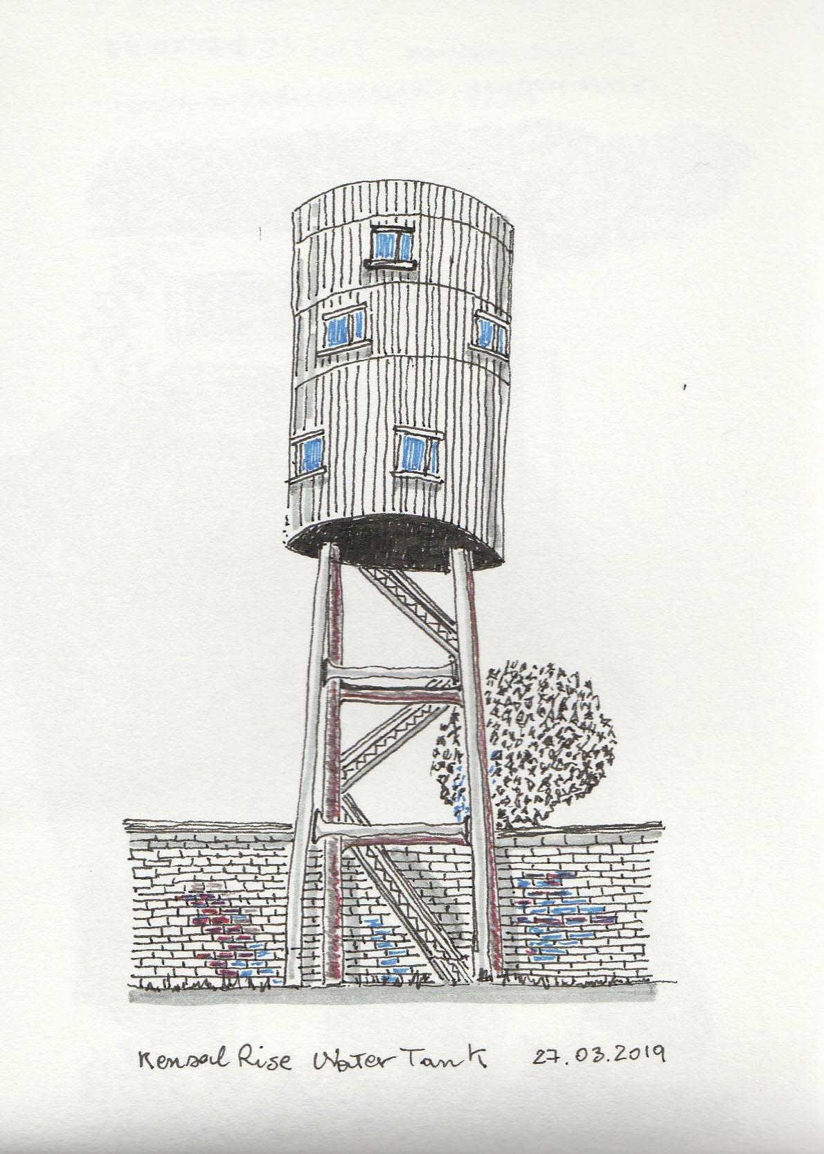 Kensal Rise Water Tank