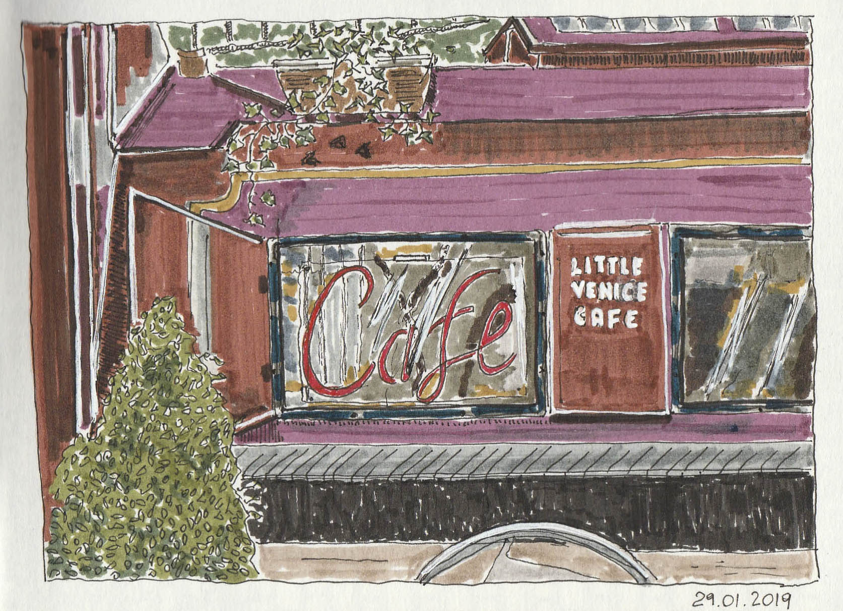 Little Venice Cafe'