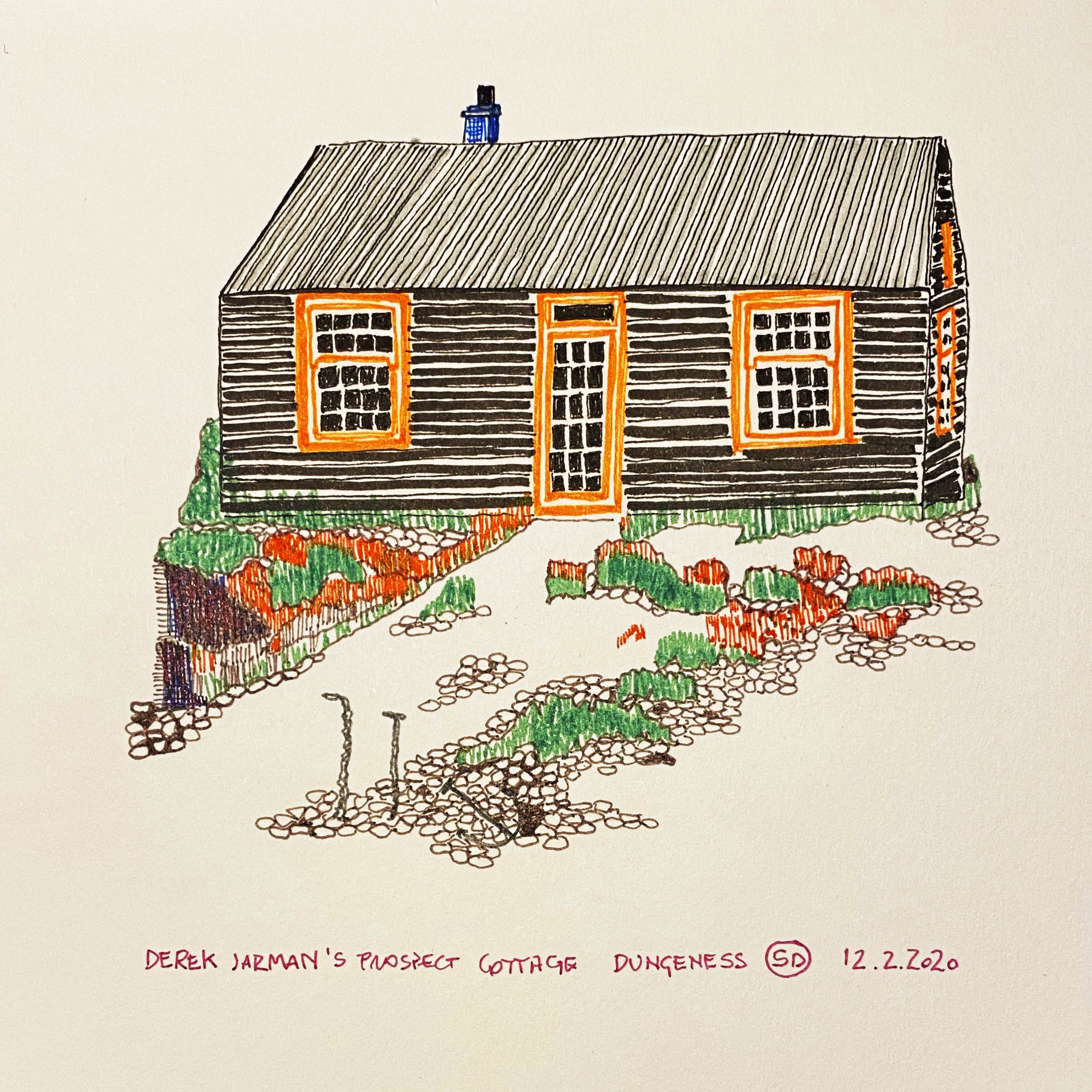 Derek Jarman Cottage