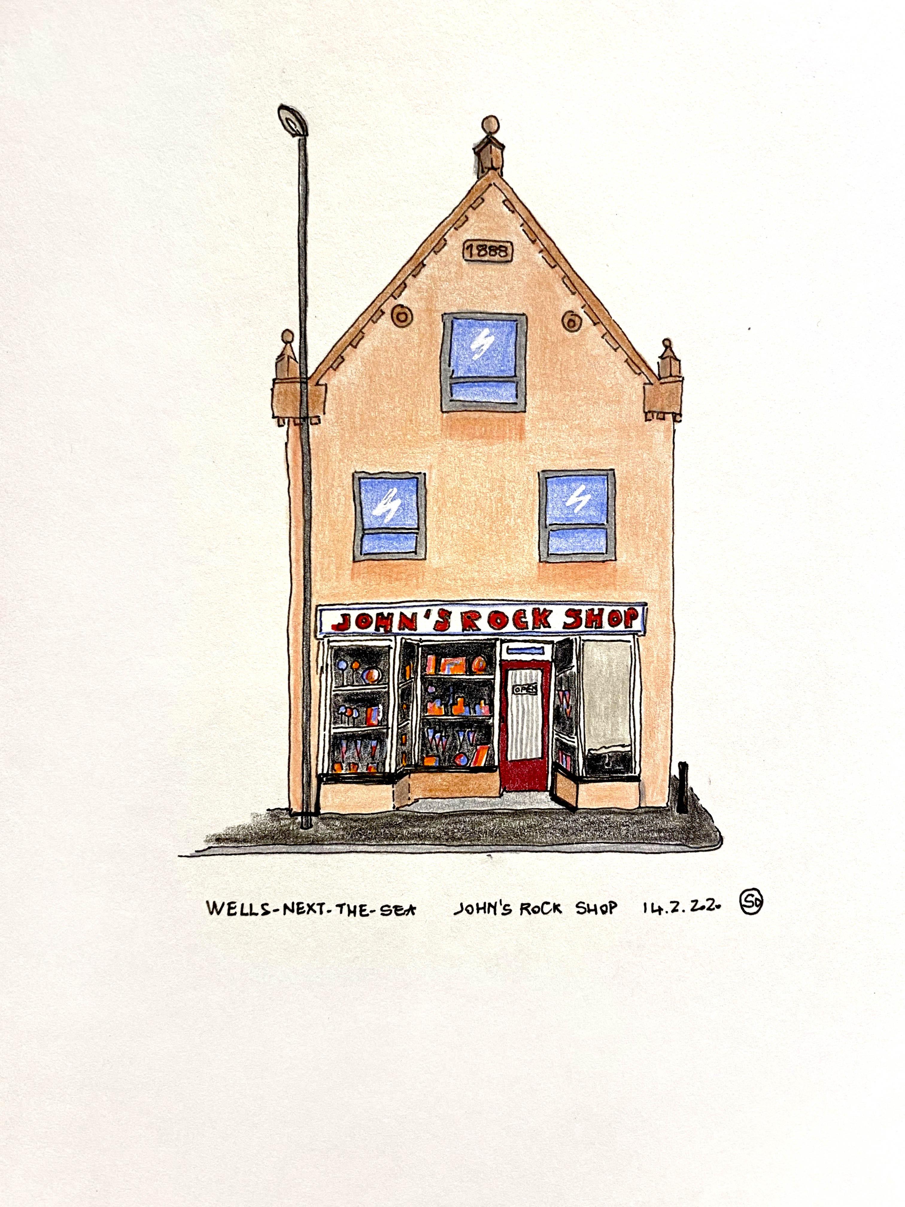 John Rock Shop