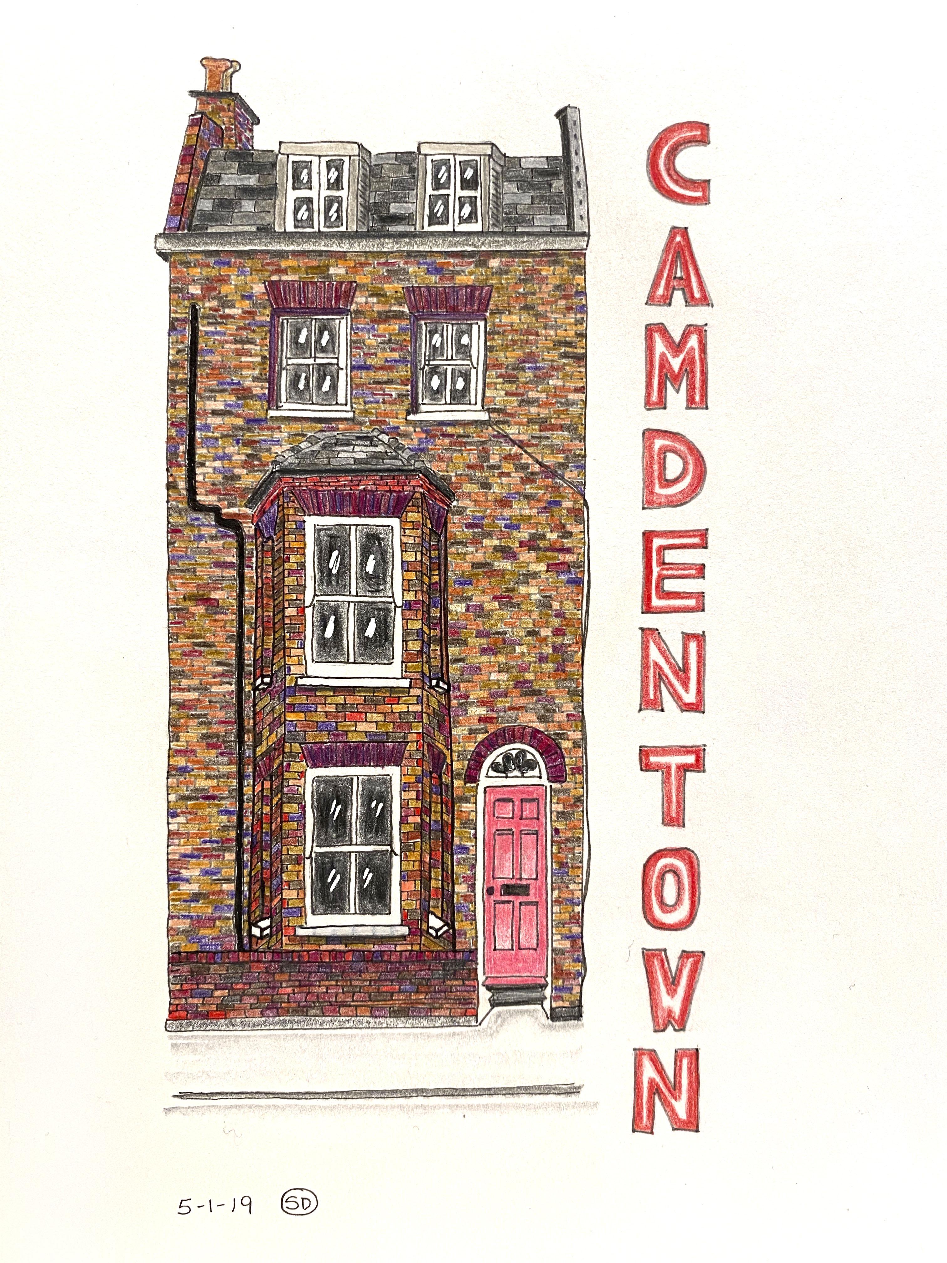Camden Town Pink Door