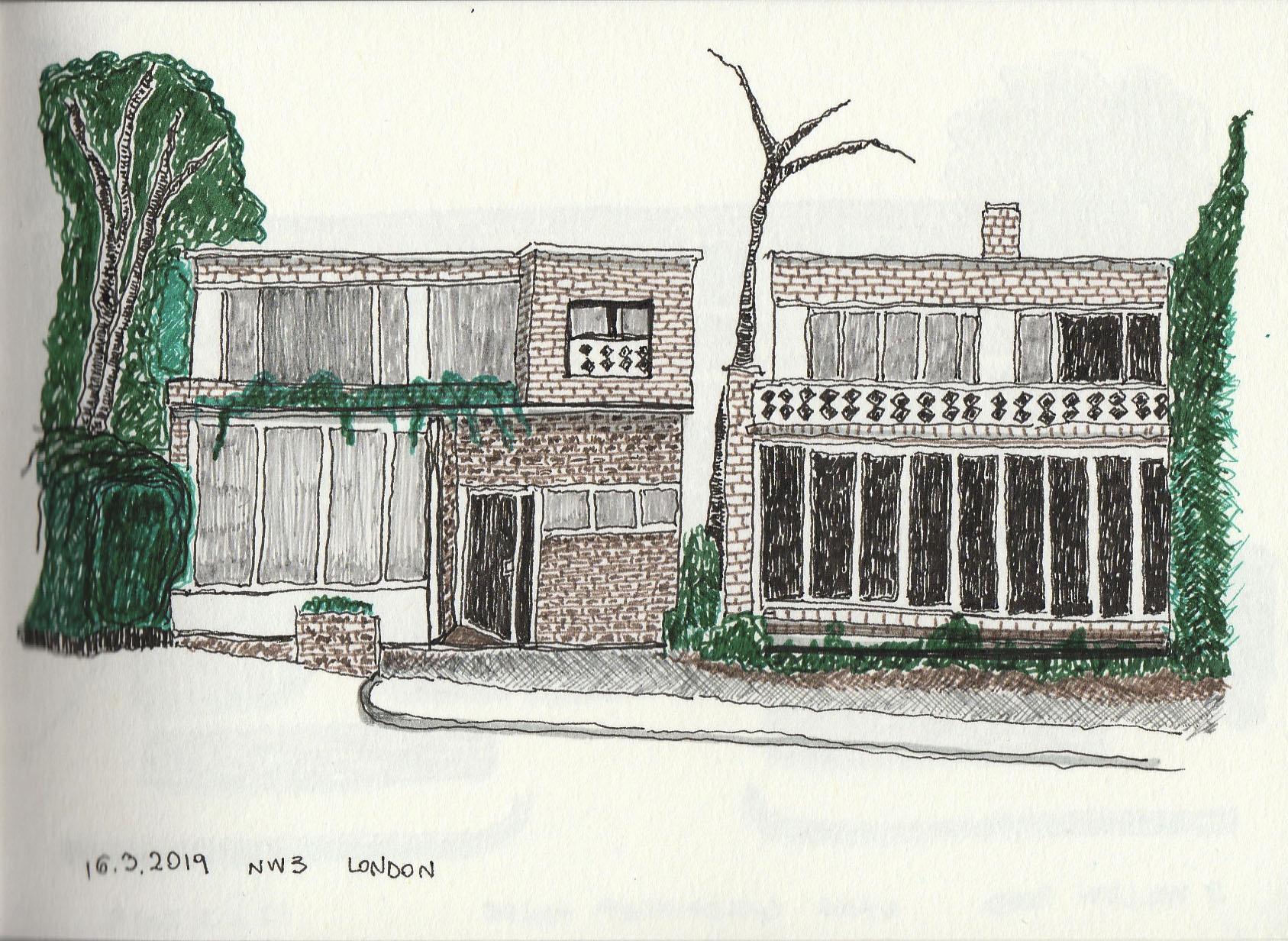 Modern House III Maresfield Gardens