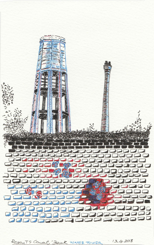 Regents canal water tank