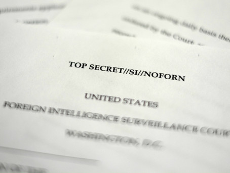 King County should not be appropriating bids for unconstitutional FISA surveillance