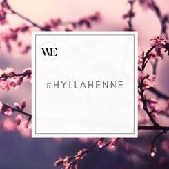 #Hyllahenne