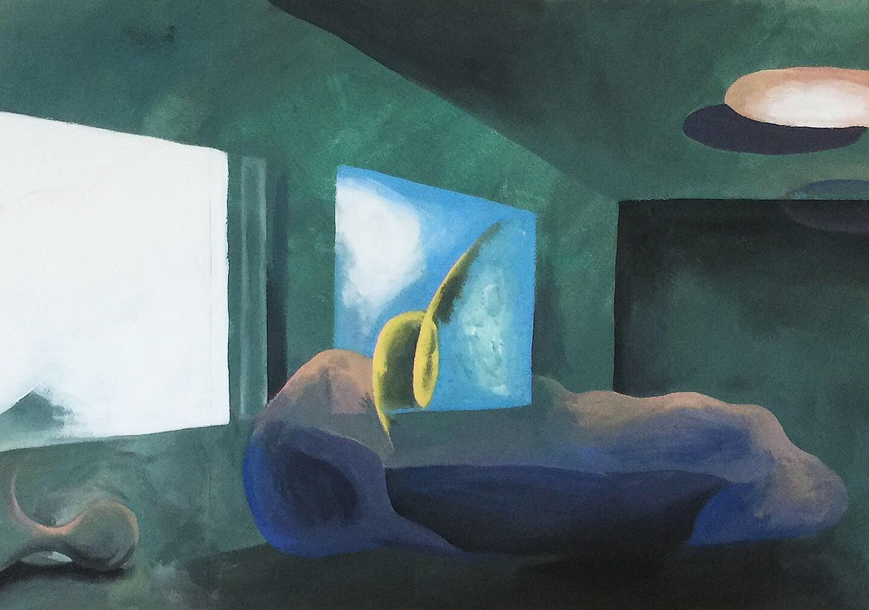 Interior (triptych)