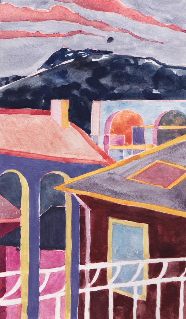 A view of Vitosha