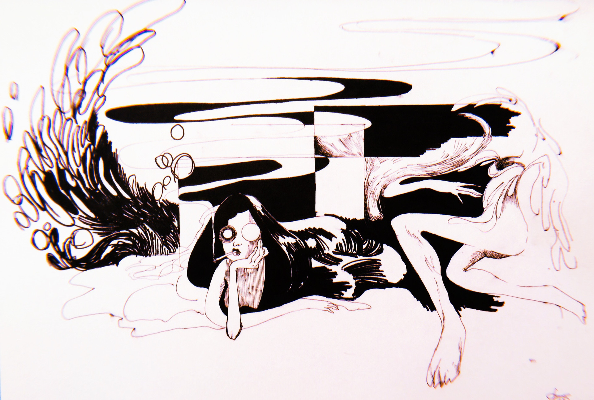daydreaming, after Steadman
