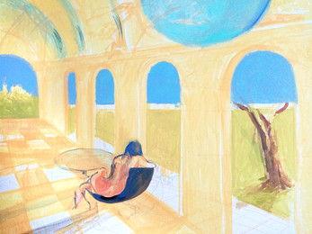 The Summer Archways (unfinished)