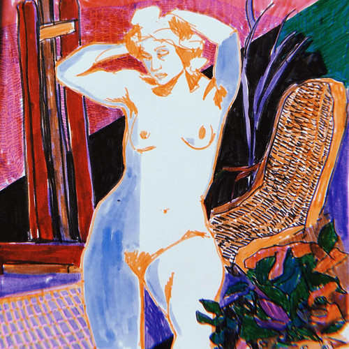 Odalisque, after Matisse
