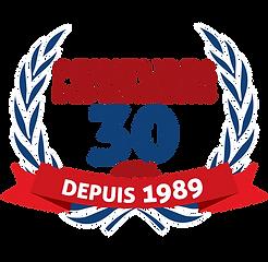 Logo 30 ans Peintures des Seigneurs