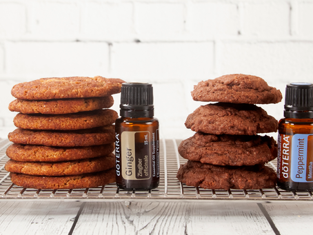Holiday Cookies with Essential Oils