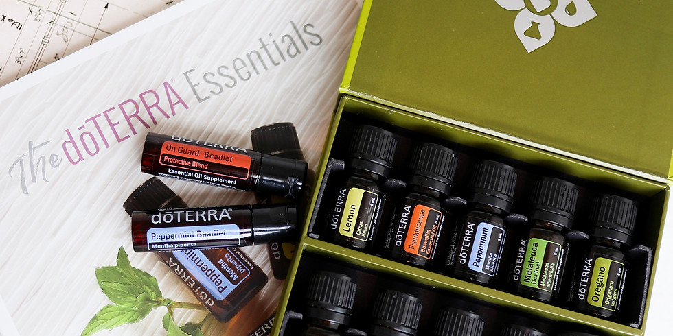Essential Oil Basics + Free Sample (morning class)