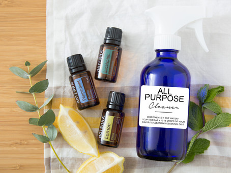 Natural Cleaning with Essential Oils!