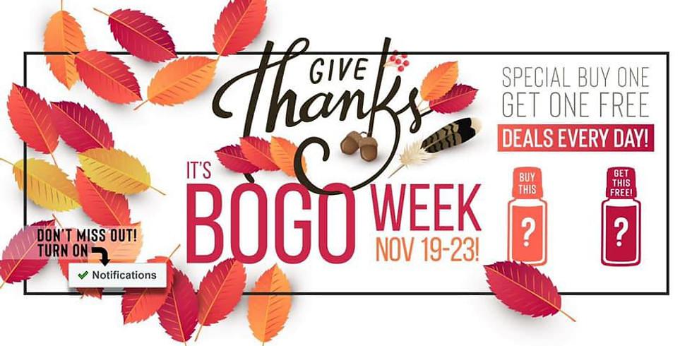 November BOGO 19th-23rd