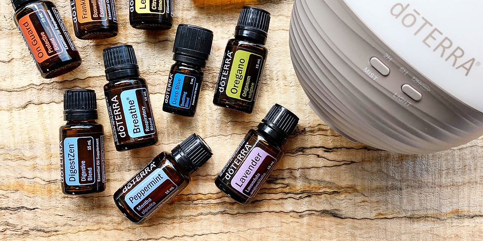 ONLINE Natural Solutions with Essential Oils