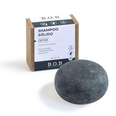 Shampoo Sólido Detox B.O.B