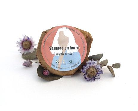 Shampoo Sólido Cabelo Misto Chá Dao