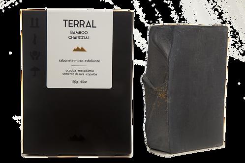 Sabonete Esfoliante Carvão Ativado Terral 130g