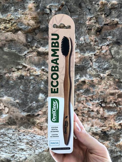 Escova de Dente Ecobambu com Carvão Ativado OralClear