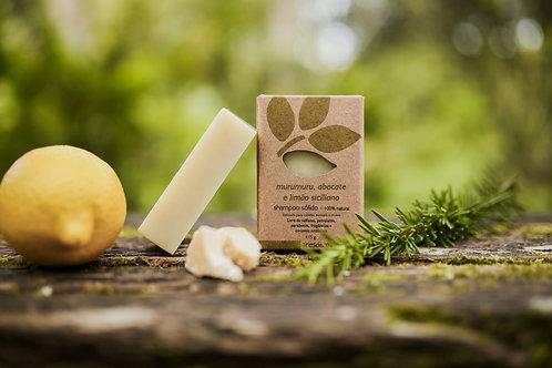 Shampoo Sólido Murumuru, Abacate e Limão Siciliano Ares do Mato 115g