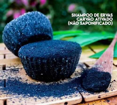 Shampoo Sólido Carvão Ativado Não-Saponificado Marapicu