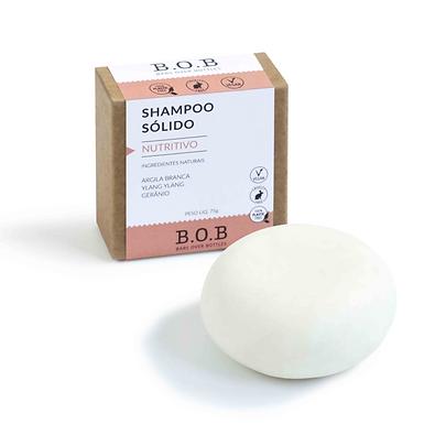 Shampoo Sólido Nutritivo B.O.B