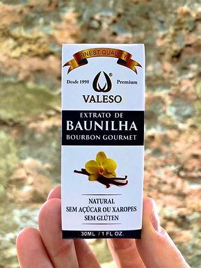 Extrato de Baunilha Bourbon Valeso 30ml