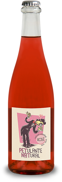 Vinhas do Tempo Petulante Natural Rosé 2020 750ml