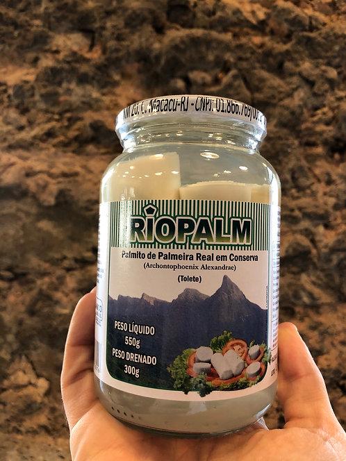 Palmito em Conserva Tolete Orgânico Riopalm