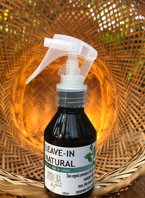 Leave-in Natural Amoreira 100ml