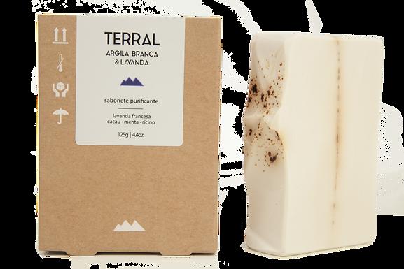 Sabonete Purificante Argila Branca Terral 125g