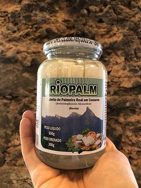 Palmito em Conserva Banda Orgânico Riopalm